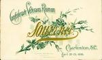 Confederate Veterans Reunion Souvenir, Charleston, S.C., April 22-23, 1896.
