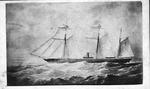 Carte de visite of the CSS Alabama, ca. 1860's