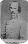 Carte de visite of Gen. Albert S. Johnston, CSA