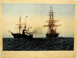 Seizure of Confederate Commissioners Mason and Slidell aboard the Trent.