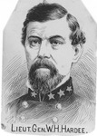 Lt. Gen. W. J. Hardee, CSA, by Jacques Reich from a 1876 photo