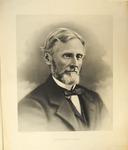Portrait of Jefferson Davis as an old man