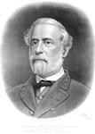 Confederate General Robert E. Lee, print sold by Lee Memorial Association