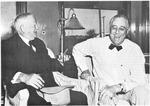Pres. Franklin D. Roosevelt, and Vice President John Garner, 1940