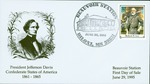 Stamped envelope, first day of sale, Robert E. Lee .32 cent stamp, 1995