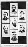 Carte de visite of Confederate Generals of the South