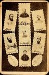 Carte de visite of 7 Confederate Generals