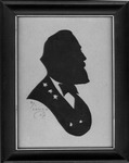 Silhouette of Robert E. Lee, by Alonzo Cox, ca. 1931