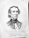 President John Tyler, by Jacques Reich,