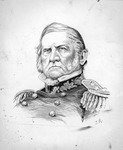 Gen.Winfield Scott, india ink by Jacques Reich