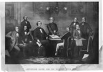 Jefferson Davis and his Cabinet with Robert E. Lee