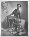 Autographed photo of Jane Hobson, 1948 by J. Abresch