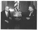 (l to r) Ken Hechler and Undersecretary of State George Ball, 1962 by Robert H. McNeill