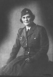 Catherine Enslow in Womens' Voiluntary Services uniform, 1942