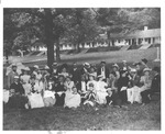 """1889 """"Fete Champetre"""" at the Greenbrier Hotel, White Sulphur Springs"""