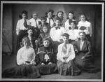members of Vanity Fair club, Huntington, 1905