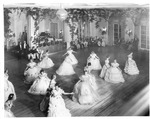 Northern & Southern Society dance at Lee Monument Ball, Greenbrier Hotel, 1935