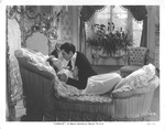 Greta Garbo and Robert Taylor in