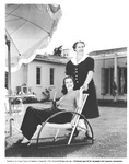 Starlet Helen Parrish and her Mother Mrs. Laura Parrish, 1940