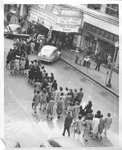 Crowd at Keith-Albee Theater, 1944