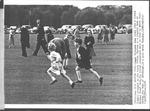Princess Anne and Prince Charles, Windsor Park, 1956