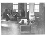 Reporters & editors at Huntington Pub. Co. (HUPCO), 1938