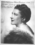 Autographed photo of soprano Helen Traubel, 1951