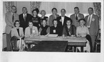 Huntington Hi School reunion class of 1917, Oct. 1951