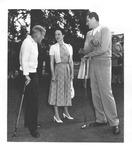 Duke & Duchess of Windsor with Fla. Sen. George Smathers, 1953
