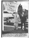 Adlai Stevenson campaigning for President, Conway, N.H.,1956