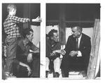 Pres. Lyndon B. Johnson, 1964, probably in Eastern Ky.