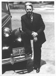 harry Mueller, band director at Marshall College, ca. 1937