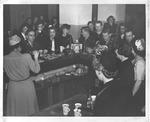 Huntington USO club, during WWII