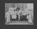 Catherine Enslow's kindergarten class, ca. 1905