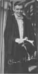 Autographed photo of Clark Gable as Rhett Butler