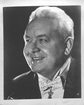 Autographed photo of singer Lauritz Melchior