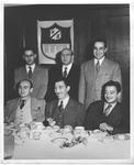 (seated) Jim Tweel on left, Bill Tweel on far right