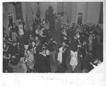 Marshall Cadets & other enlisted men, possibly at Huntington USO, 1940's