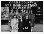 War bond drive, Women Volunteer Services, Huntington, WWII