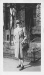 Catherine Enslow in Womens' Voiluntary Services uniform, ca. 1945