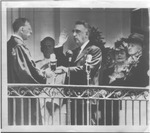 Fred Vinson being sworn in as Chief Justice