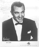 Autographed photo of singer Tony Martin