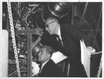 Ken Hechler and Dr. Werner Von Braun, early 1960's