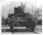Stuart M-3 light tank, Franklin Delano Roosevelt inaugeral parade, Jan. 1941