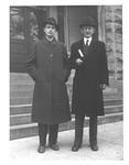 Bill Estler (left) and Dr. James Allen of Marshall
