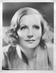 Movie promo still of Greta Garbo