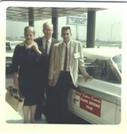 Catherine Enslow at the 1963 Travel Editor's tour of Ky.