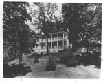 One of the cottages, Greenbrier Hotel, 1958