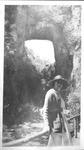 Catherine Enslow at Natural Bridge, Va., summer, 1917