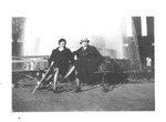 Constance and Catherine Enslow at the Chicago World's Fair, 1933